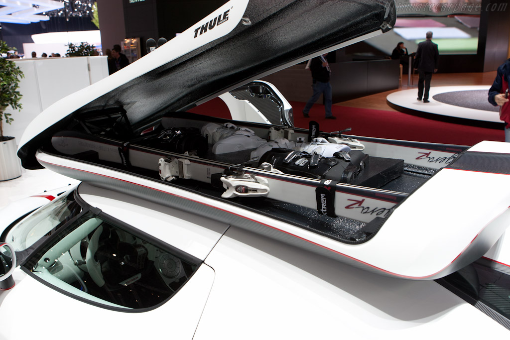 Koenigsegg Ski-Box   - 2011 Geneva International Motor Show