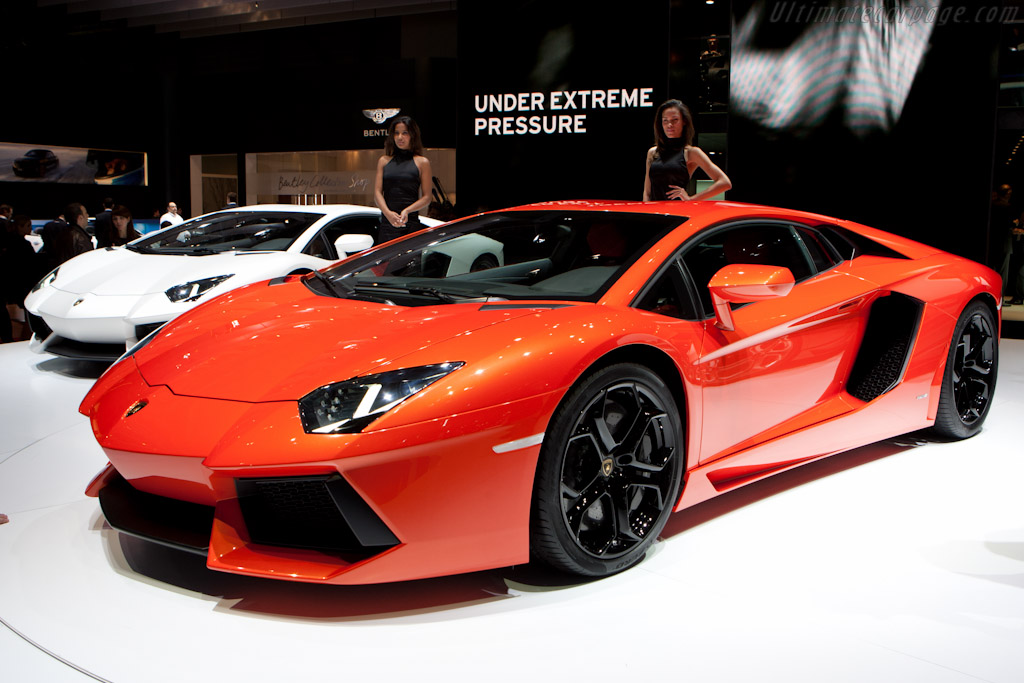 Lamborghini Aventador Lp700 4 2011 Geneva International Motor Show