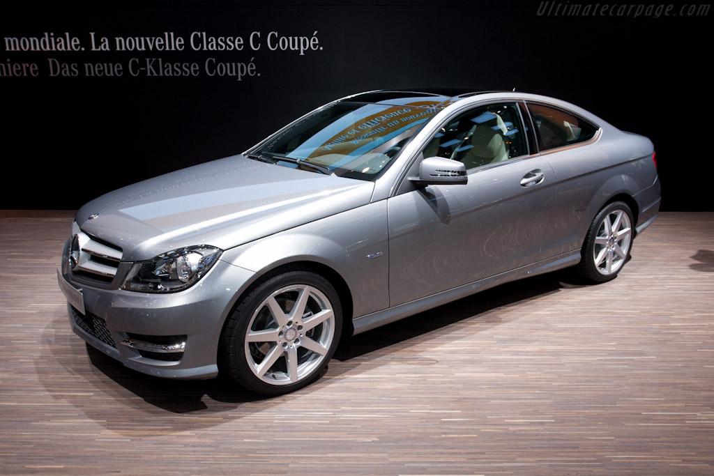 Mercedes benz c class coupe 2011 geneva international for Mercedes benz lease return