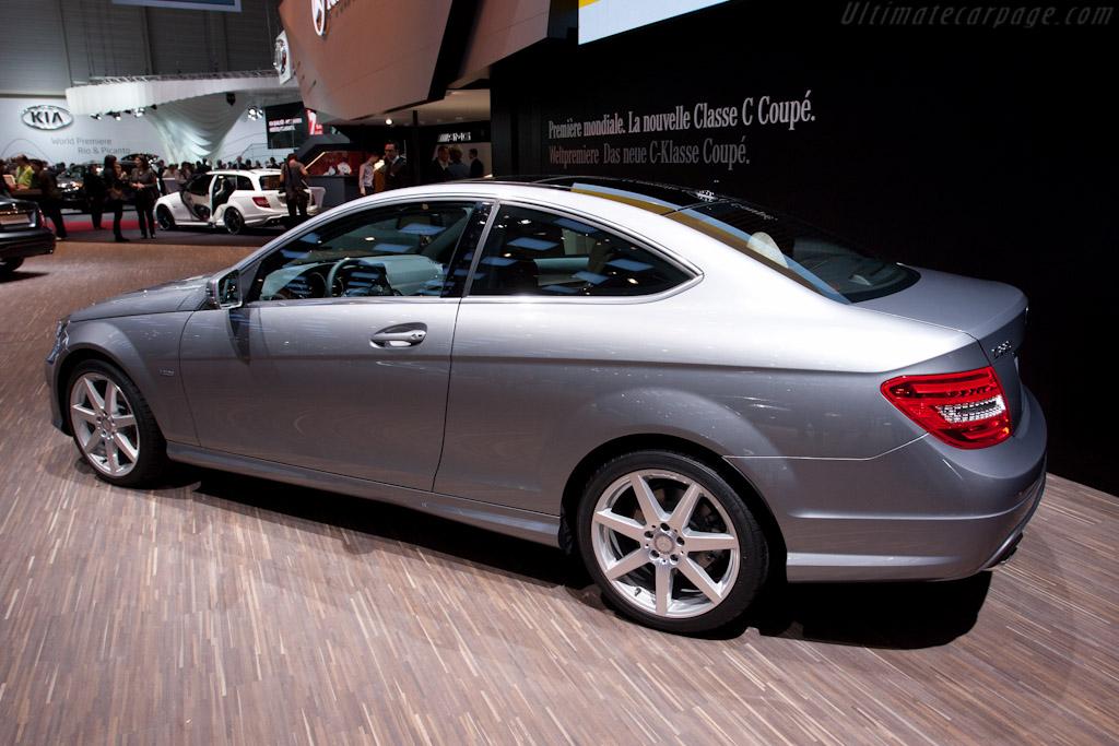 Mercedes-Benz C-Class Coupe   - 2011 Geneva International Motor Show