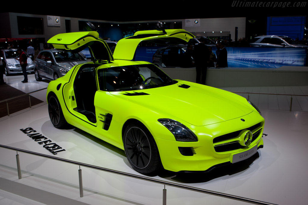 Mercedes-Benz SLS AMG E-Cell    - 2011 Geneva International Motor Show