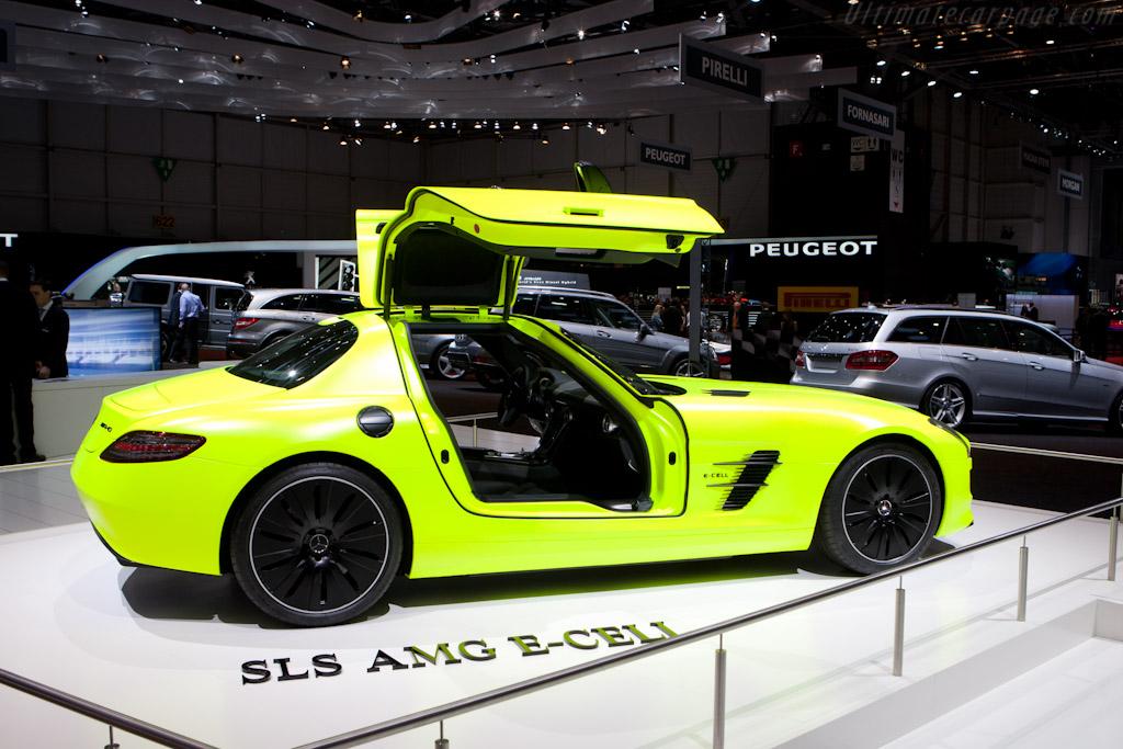 Mercedes-Benz SLS AMG E-Cell   - 2011 Geneva International Motor Show