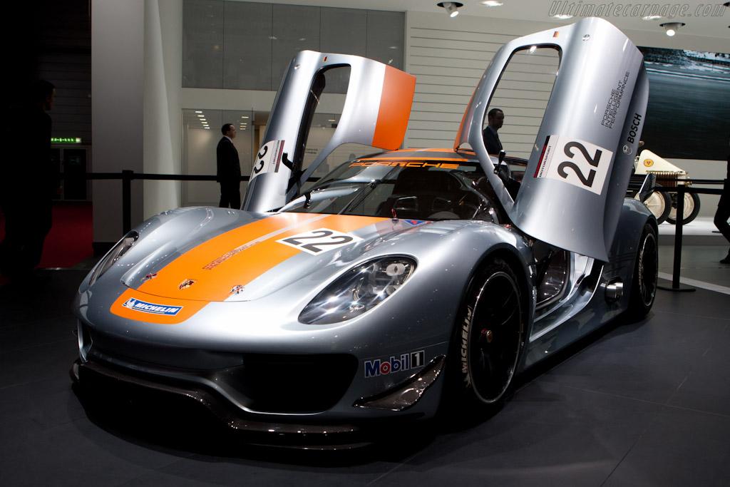 Porsche 918 RSR Concept    - 2011 Geneva International Motor Show
