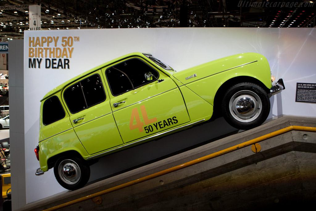 Renault 4 at 50   - 2011 Geneva International Motor Show