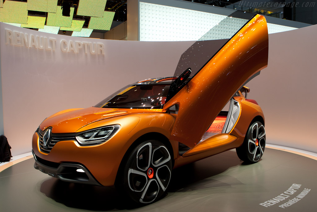 Renault Captur Concept    - 2011 Geneva International Motor Show