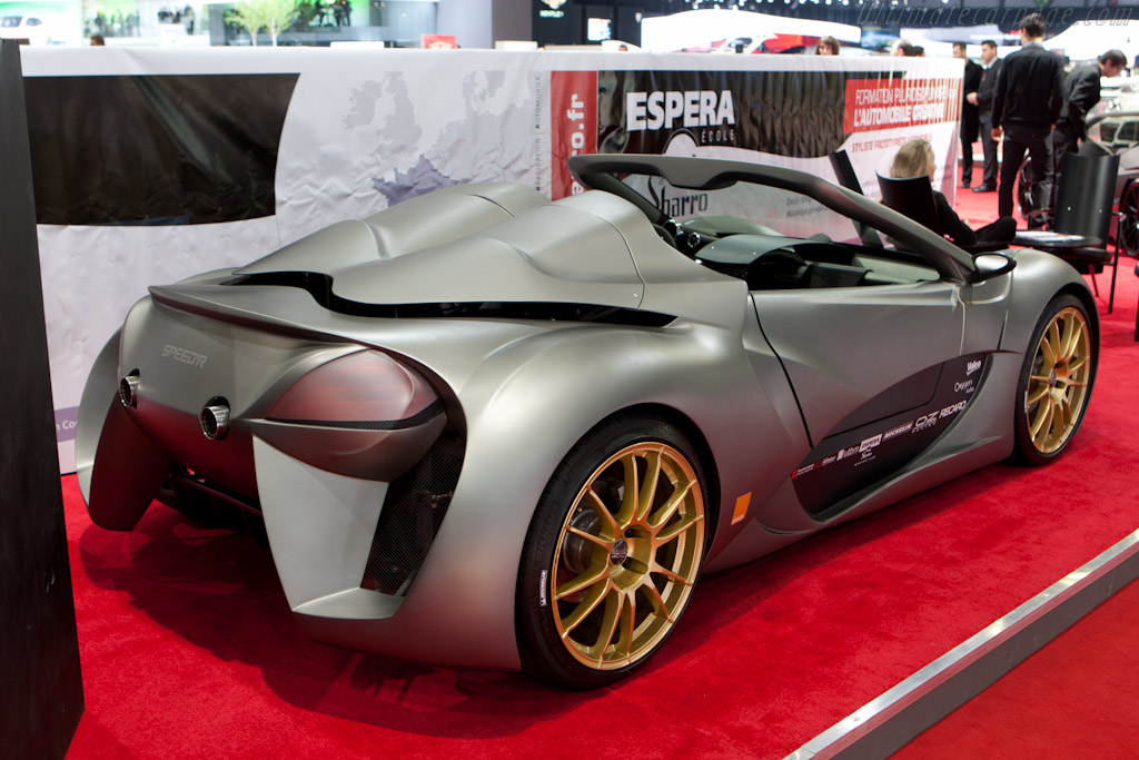 Sbarro Speed'R    - 2011 Geneva International Motor Show