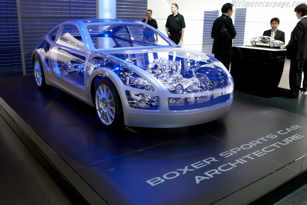Subaru BOXER Sports Car Architecture Concept    - 2011 Geneva International Motor Show