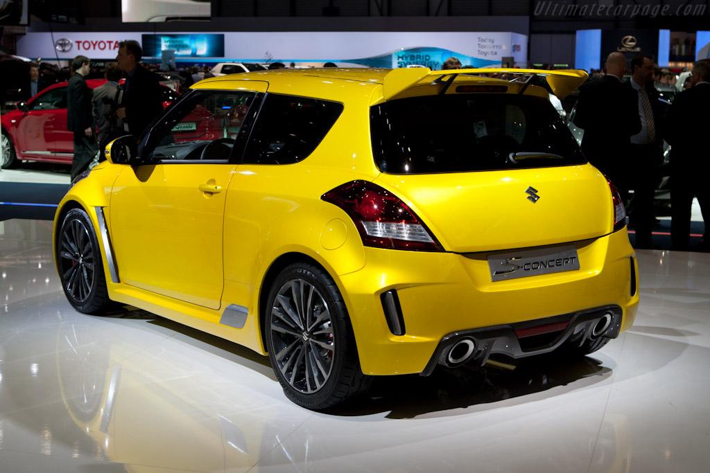 Suzuki Swift S-Concept    - 2011 Geneva International Motor Show