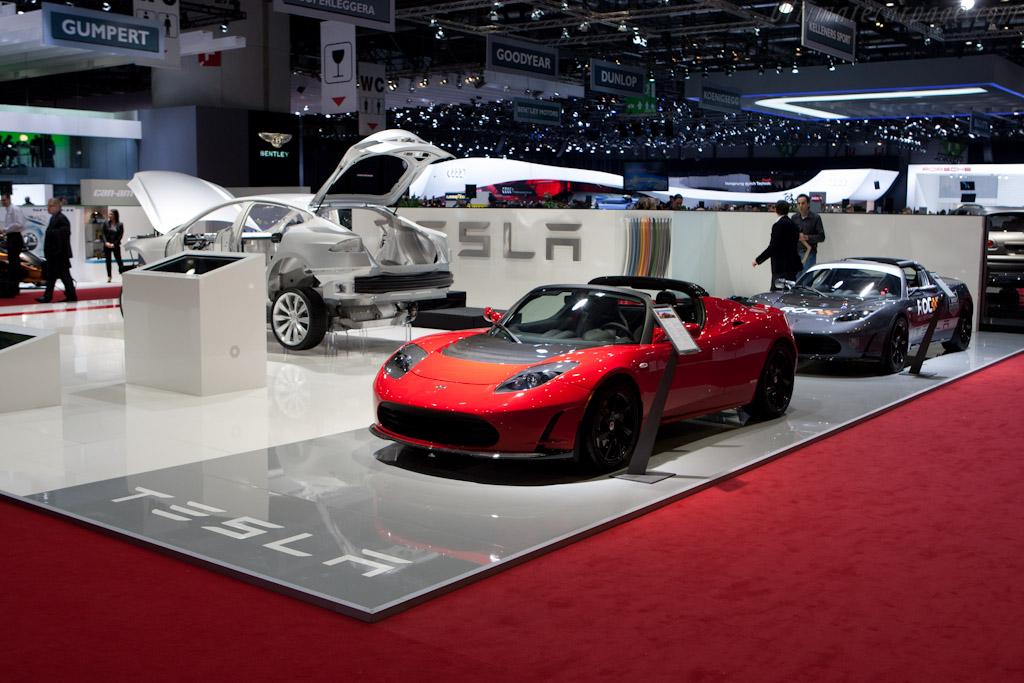 Tesla Roadster   - 2011 Geneva International Motor Show