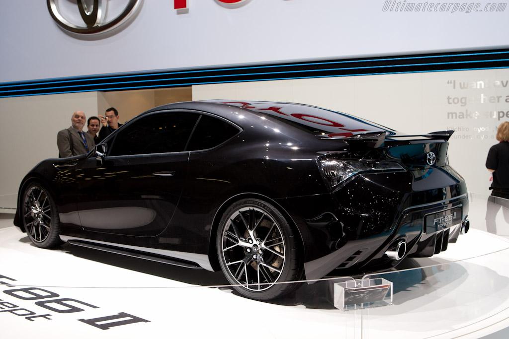 Toyota FT-86 II Concept    - 2011 Geneva International Motor Show
