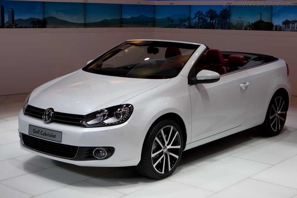 Volkswagen Golf Cabriolet - 2011 Geneva International ...