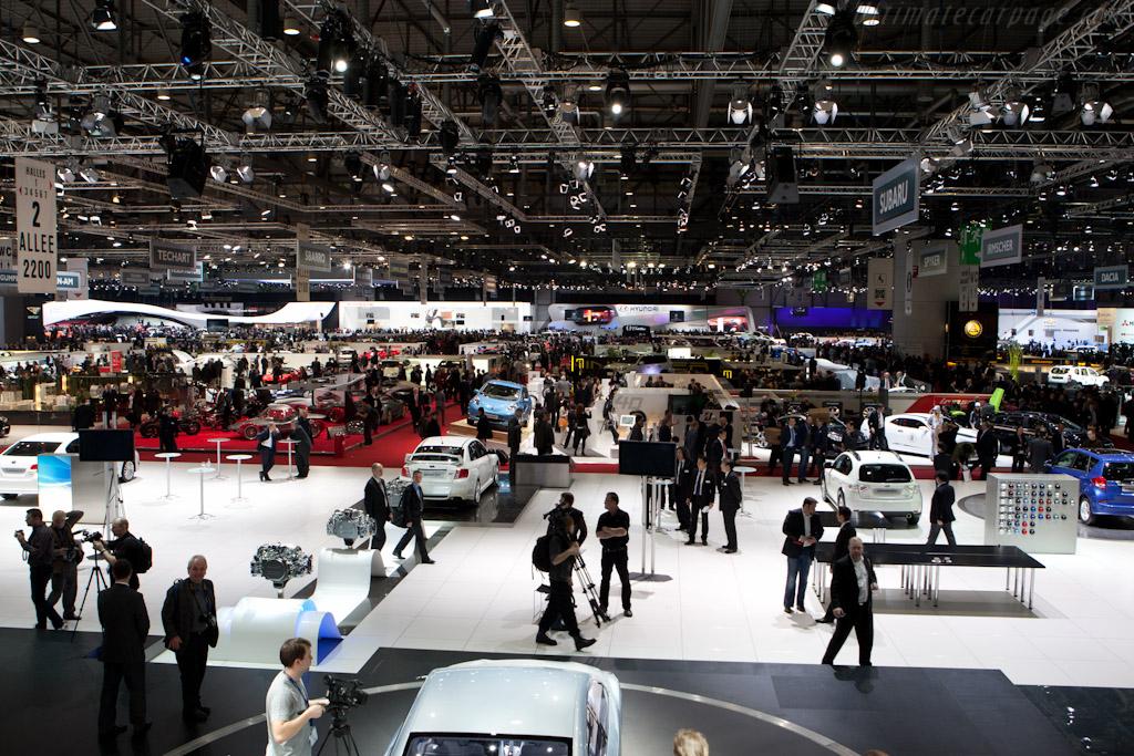 Welcome to Geneva    - 2011 Geneva International Motor Show