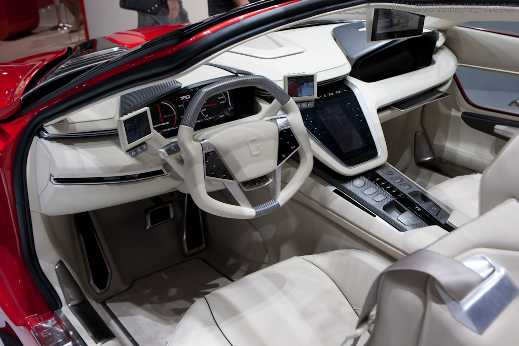 Italdesign Brivido    - 2012 Geneva International Motor Show