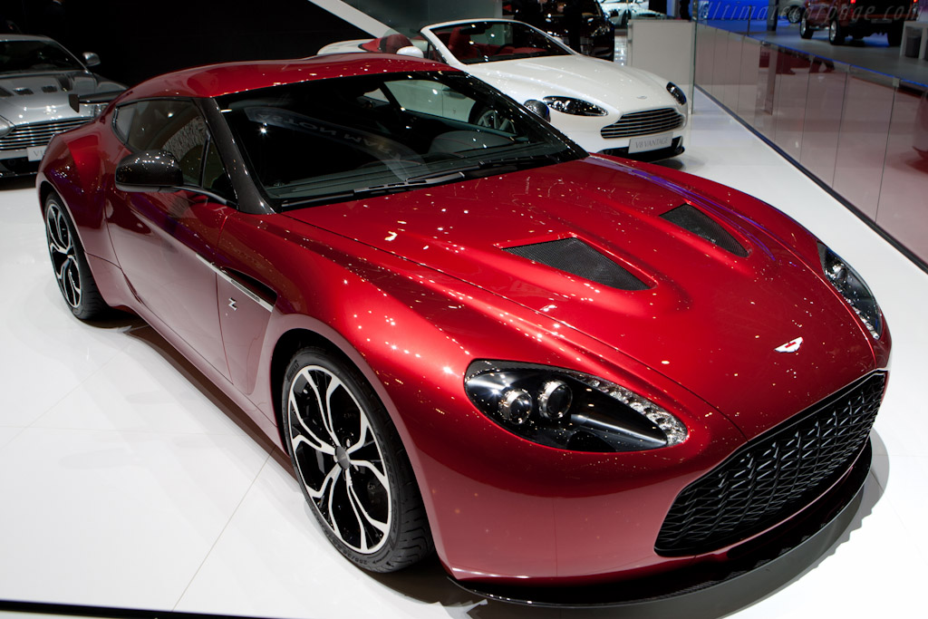 Aston Martin V8 Zagato    - 2012 Geneva International Motor Show