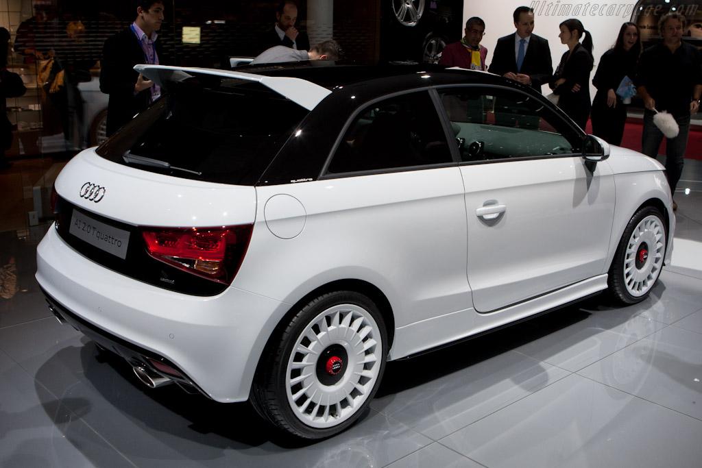 Audi A1 quattro    - 2012 Geneva International Motor Show