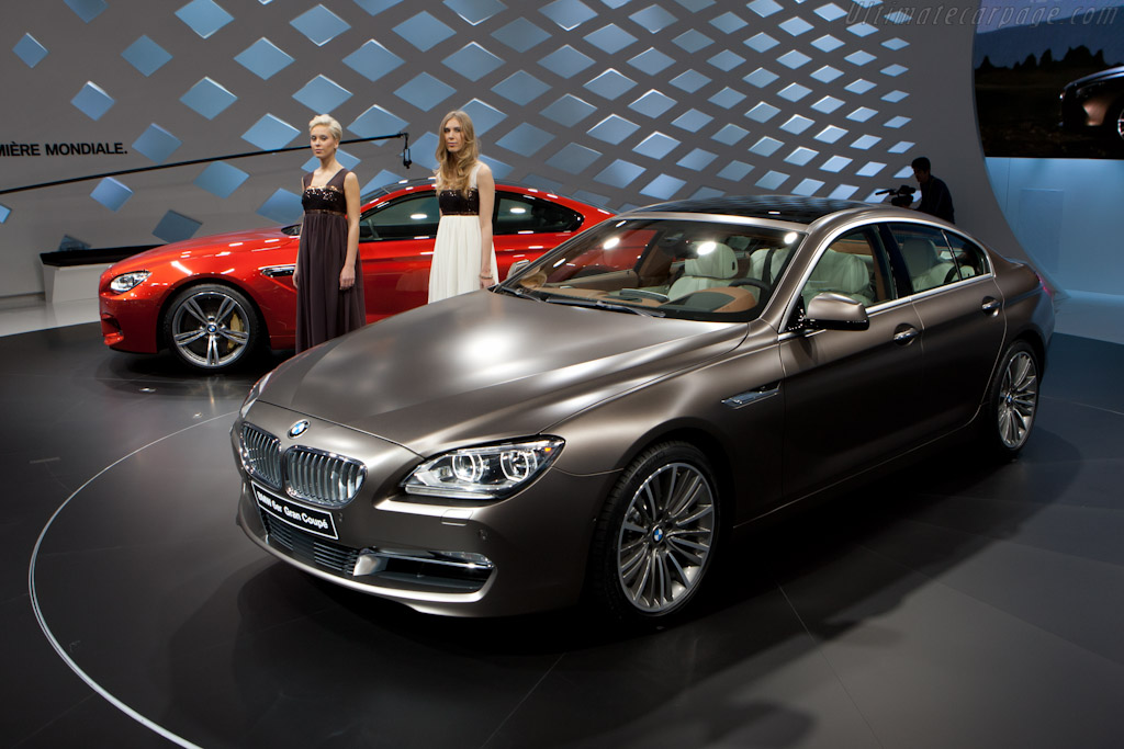 BMW 6 Gran Coupe    - 2012 Geneva International Motor Show
