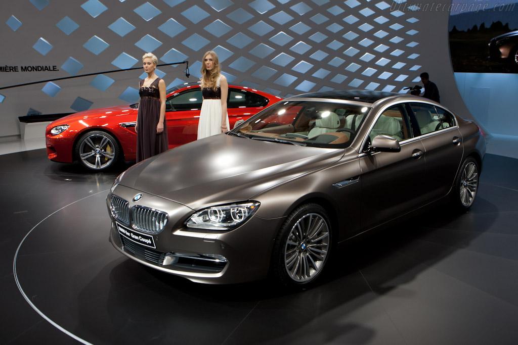 BMW 6 Gran Coupe   - 2012 Geneva International Motor Show