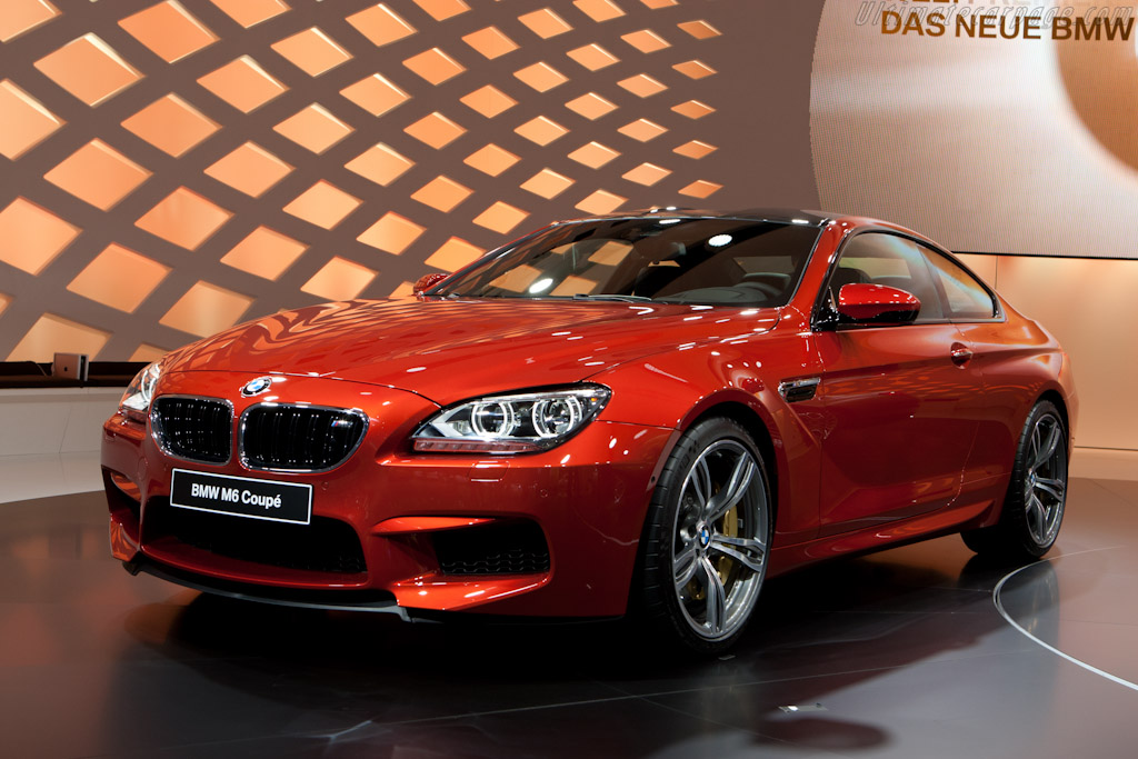BMW M6 Coupe    - 2012 Geneva International Motor Show