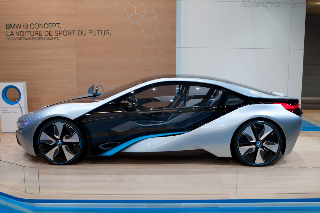 BMW i8 Concept    - 2012 Geneva International Motor Show