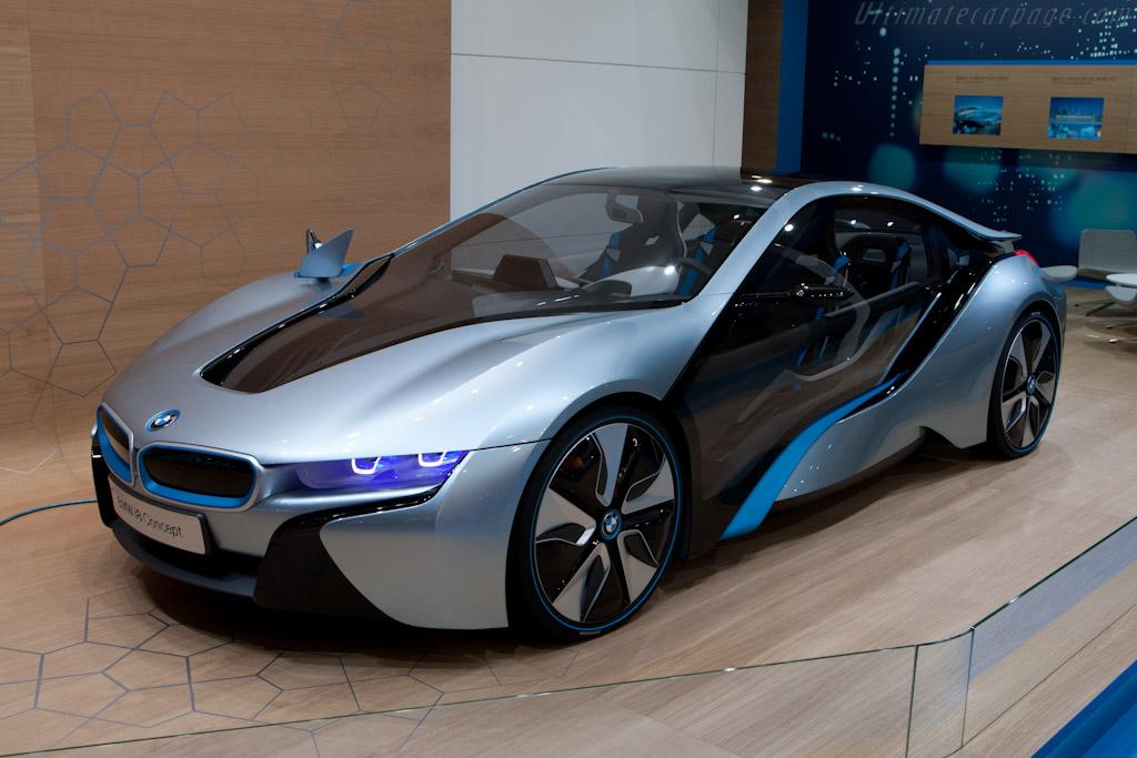 BMW i8 Concept    - 2012 Geneva International Motor Show