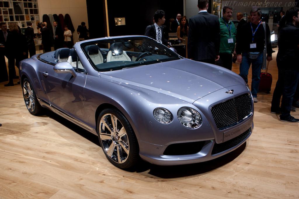 Bentley Continental GTC V8    - 2012 Geneva International Motor Show