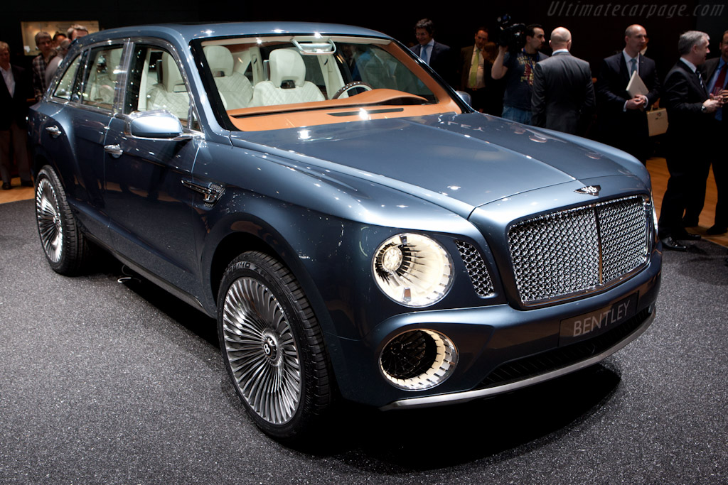 Bentley EXP 9 F    - 2012 Geneva International Motor Show
