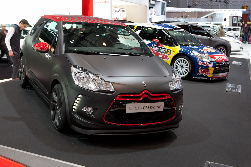 Citroën DS3 Racing Loeb    - 2012 Geneva International Motor Show