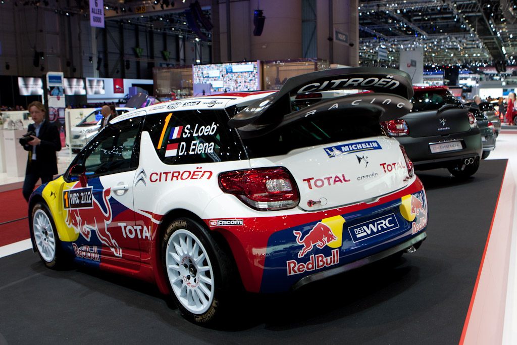 Citroën DS3 WRC    - 2012 Geneva International Motor Show