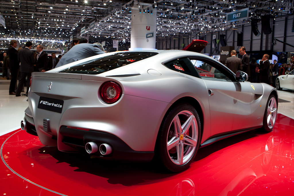 Ferrari F12berlinetta    - 2012 Geneva International Motor Show
