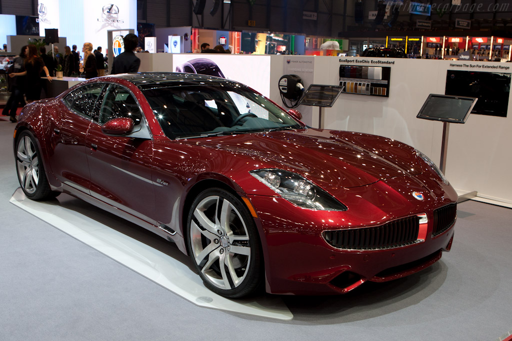 Fisker Karma    - 2012 Geneva International Motor Show