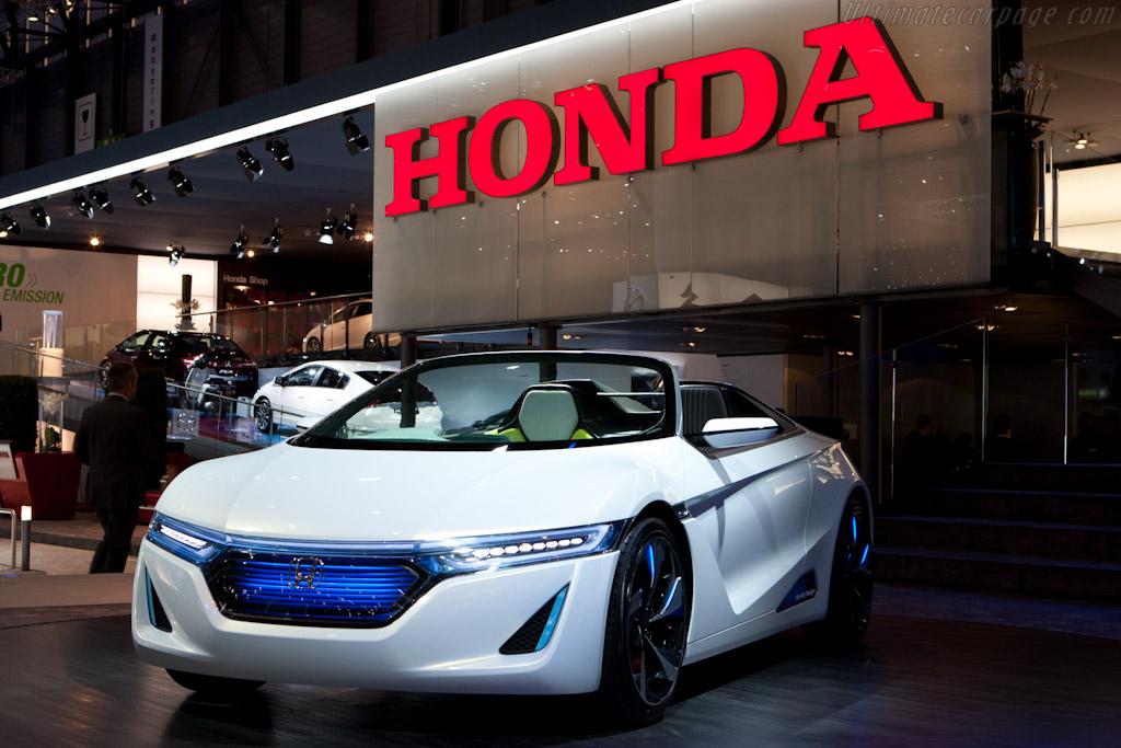 Honda EV-STER Concept    - 2012 Geneva International Motor Show