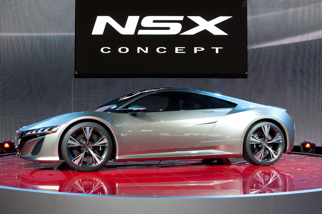 Honda NSX Concept    - 2012 Geneva International Motor Show