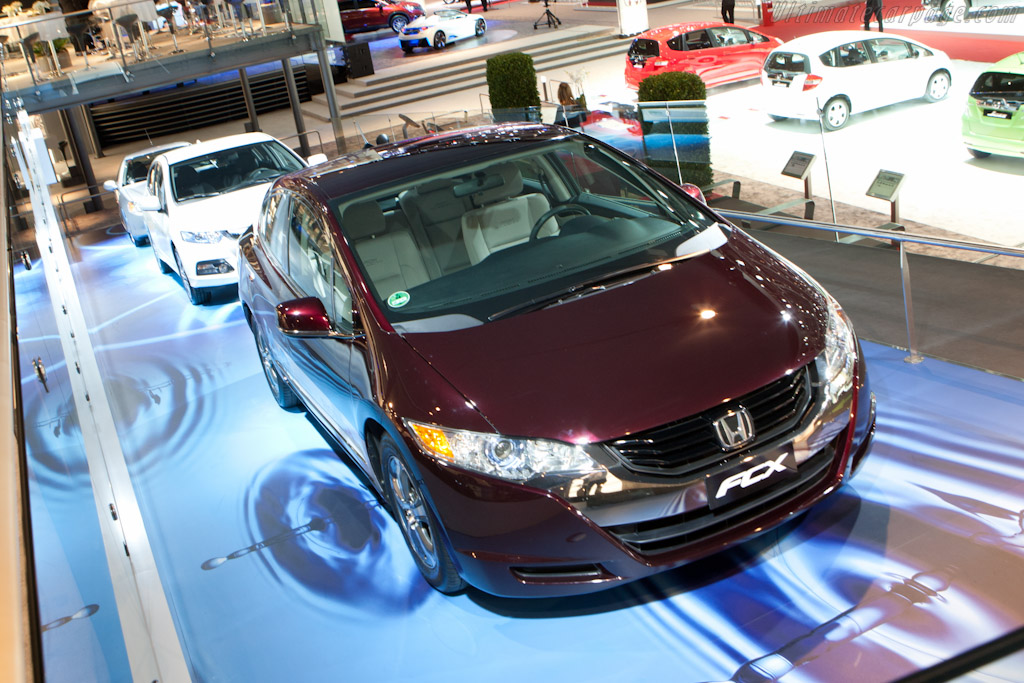 Honda's Road to Zero Emissions    - 2012 Geneva International Motor Show