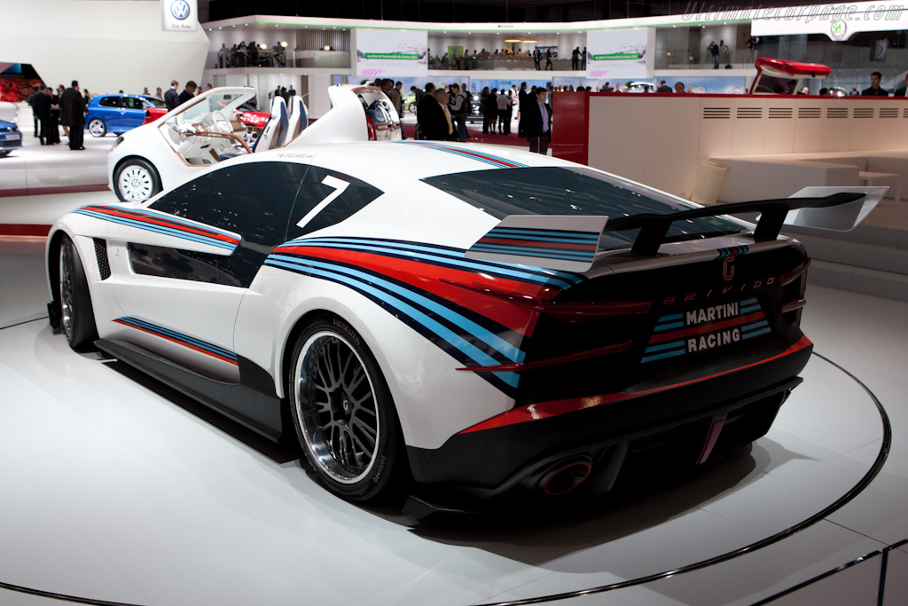 Italdesign Brivido    - 2012 Geneva International Motor Show