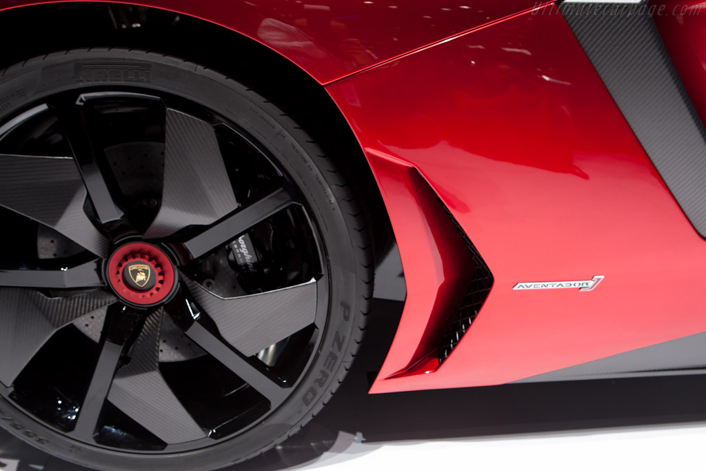 Lamborghini Aventador J    - 2012 Geneva International Motor Show