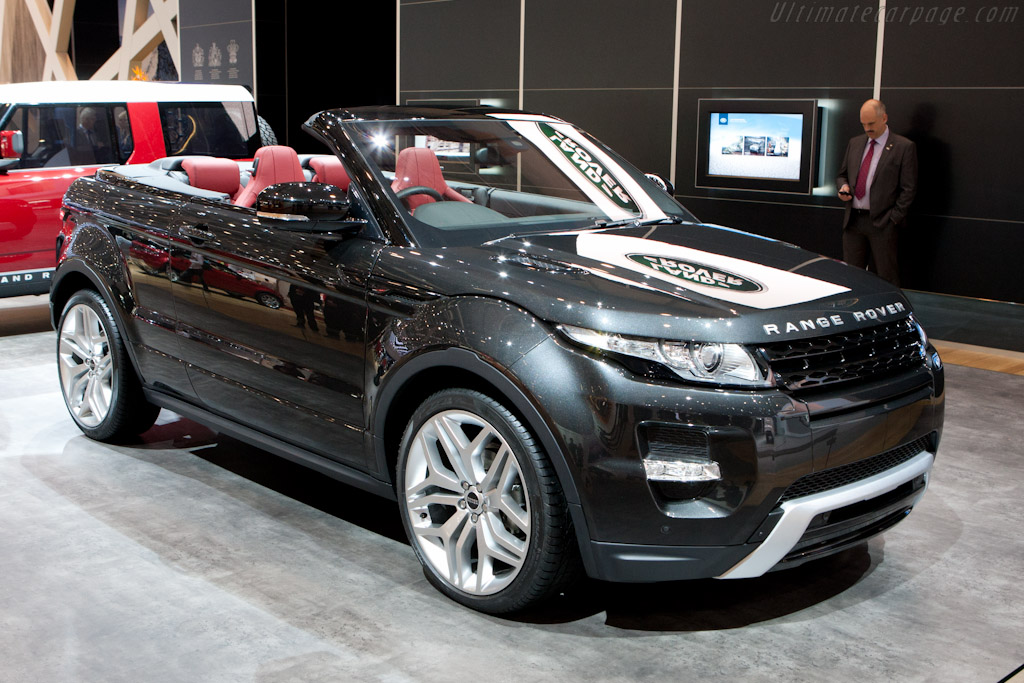 Land Rover Range Rover Evoque Convertible    - 2012 Geneva International Motor Show