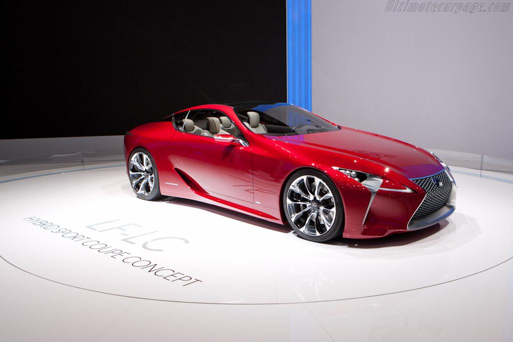 Lexus LF-LC Concept    - 2012 Geneva International Motor Show