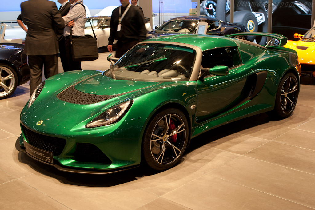 Lotus Exige S    - 2012 Geneva International Motor Show