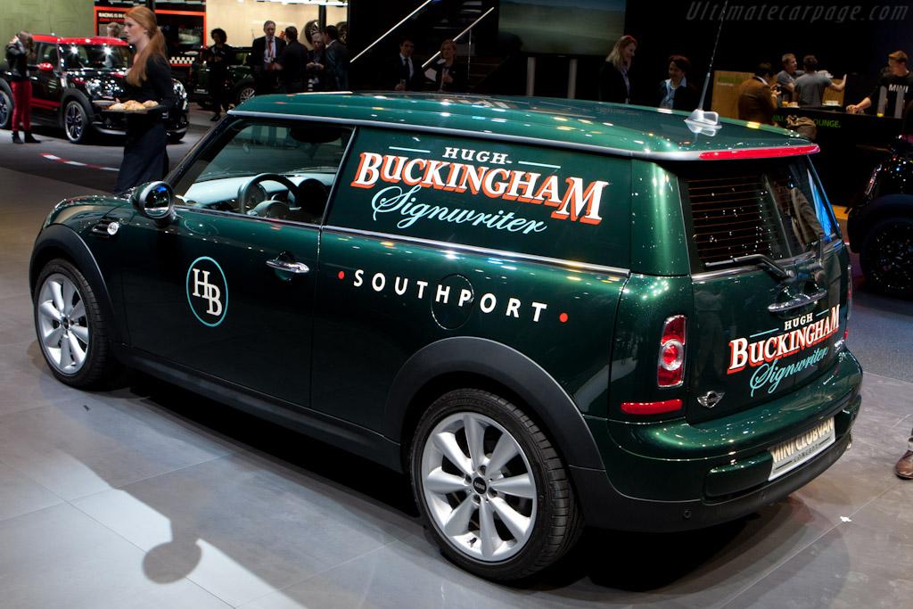 MINI Clubvan Concept    - 2012 Geneva International Motor Show
