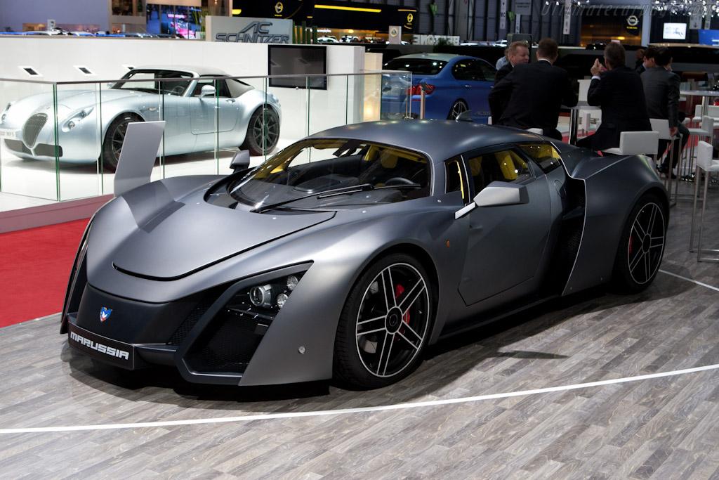 Marussia B2    - 2012 Geneva International Motor Show