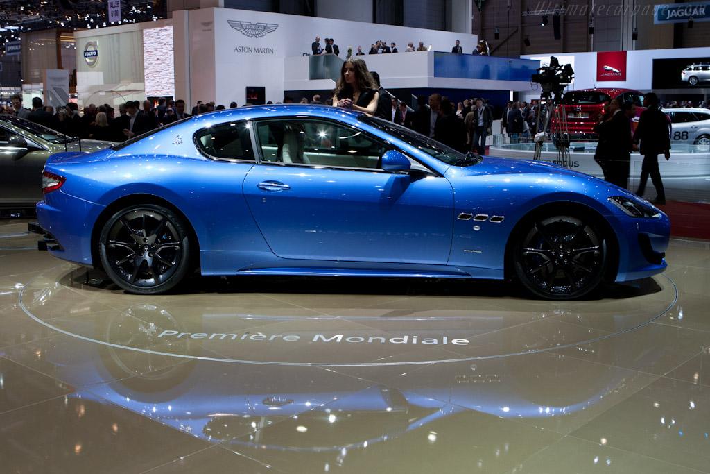 Maserati Granturismo Sport >> Maserati GranTurismo Sport - 2012 Geneva International Motor Show