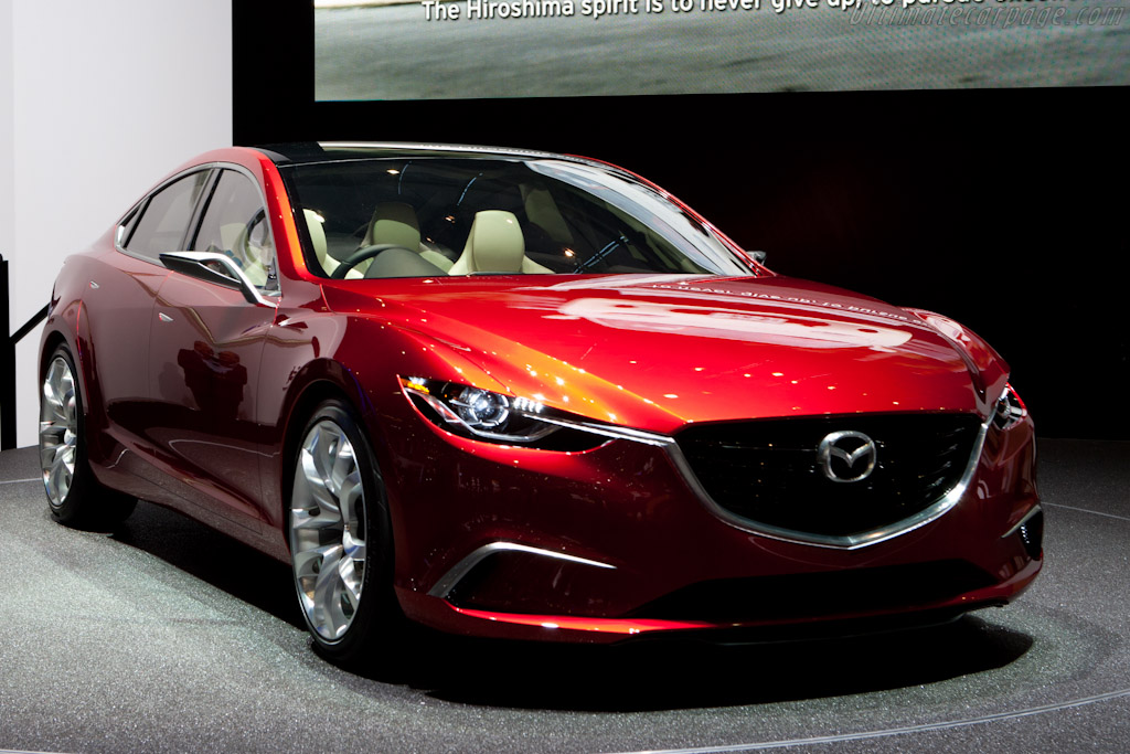 Mazda Takeri Concept    - 2012 Geneva International Motor Show