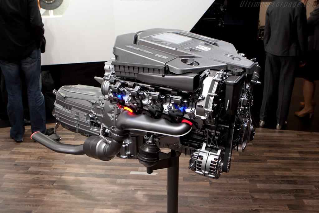 Mercedes-Benz AMG V8    - 2012 Geneva International Motor Show