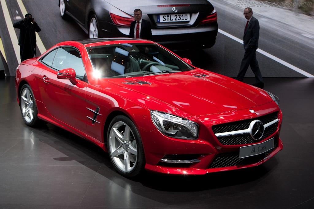 Mercedes-Benz SL 500    - 2012 Geneva International Motor Show