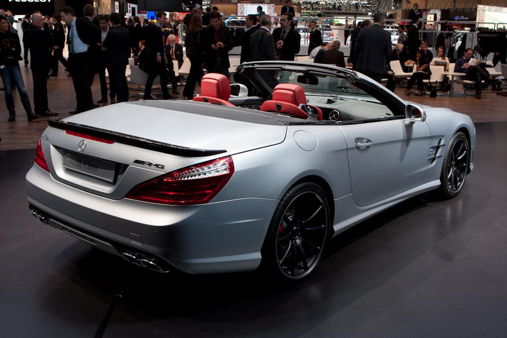 Mercedes benz sl 63 amg 2012 geneva international motor show for Mercedes benz sl 63 amg
