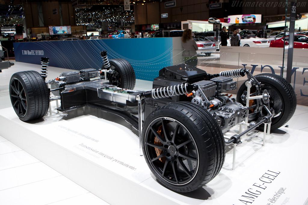 Mercedes-Benz SLS E-Cell Drivetrain    - 2012 Geneva International Motor Show