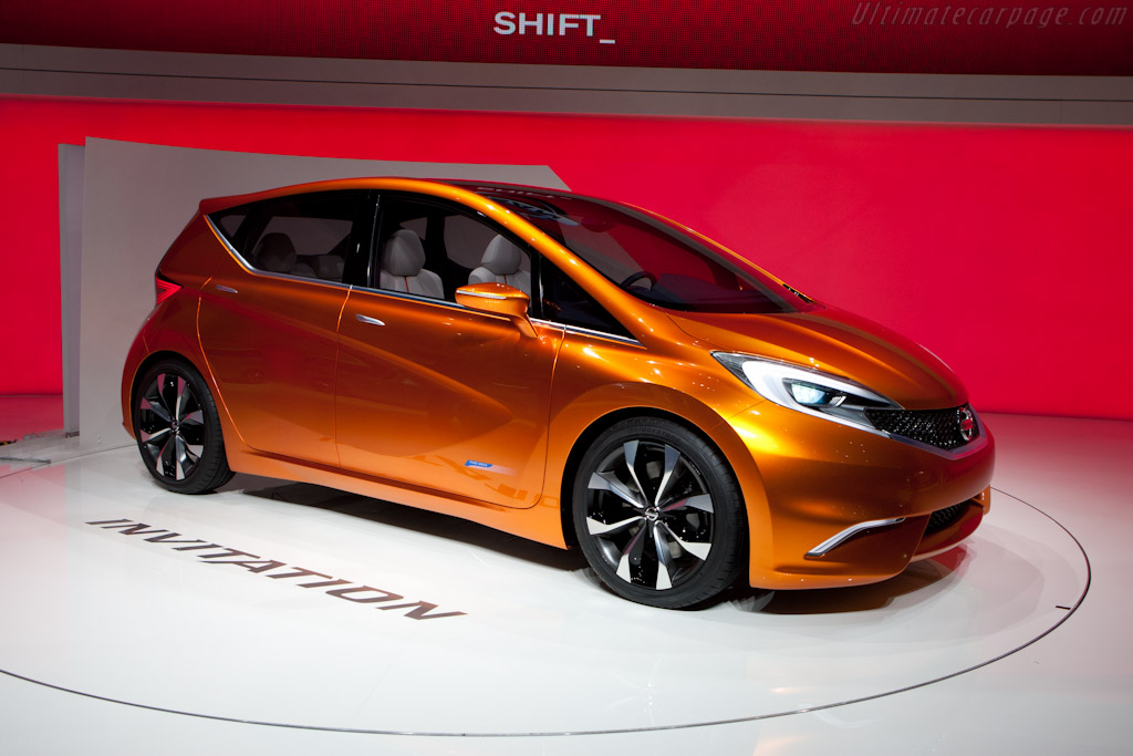 Nissan Invitation Concept   - 2012 Geneva International Motor Show