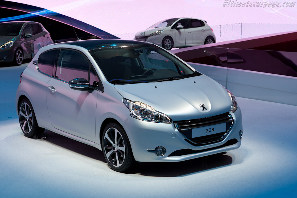 Peugeot 208    - 2012 Geneva International Motor Show