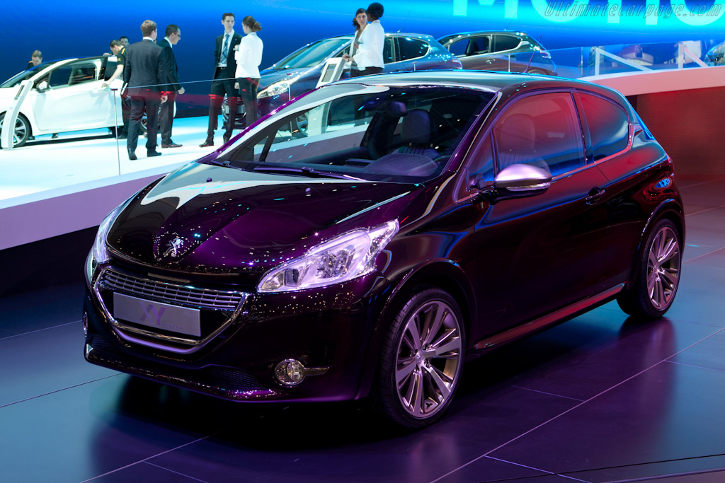 Peugeot 208 XY    - 2012 Geneva International Motor Show