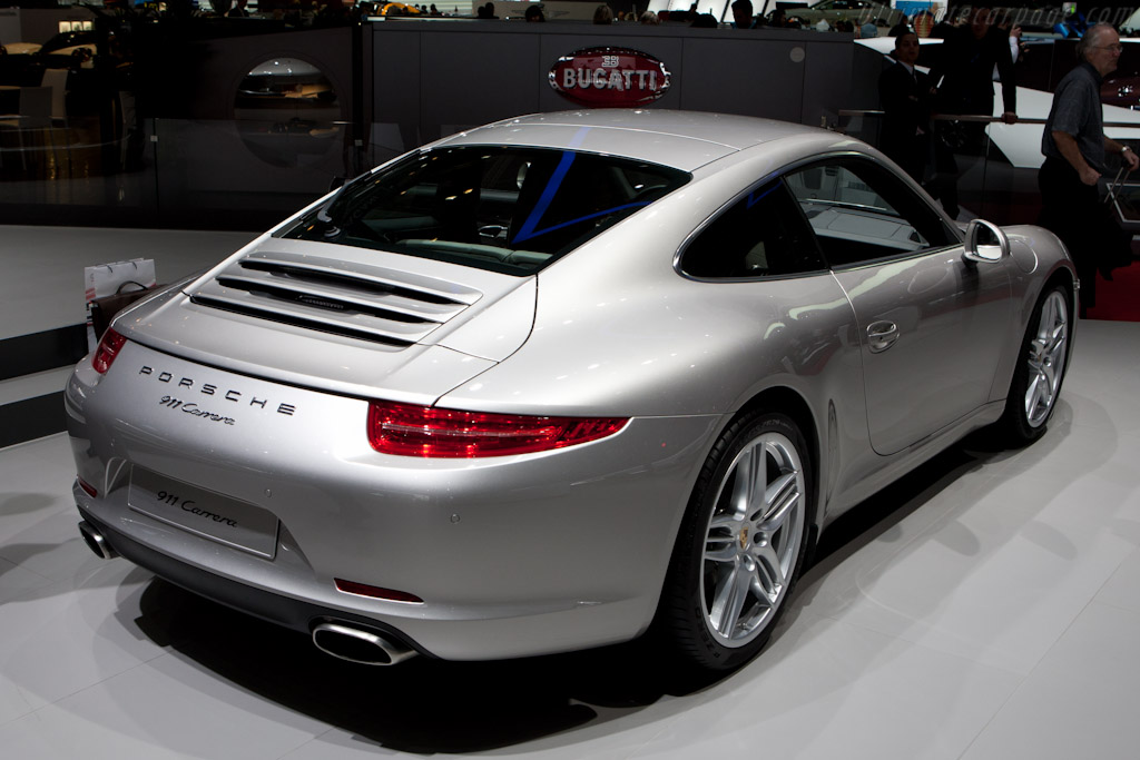 Porsche 911 Carrera    - 2012 Geneva International Motor Show